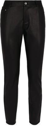 Claudie Pierlot Leather-Look Slim Jeans