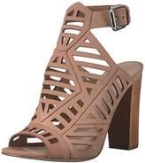 GUESS Women's Essty Platform Dress Sandal,6 M US