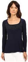 rsvp Ailis Long Sleeve Beaded Top