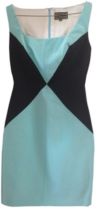 Fausto Puglisi Turquoise Silk Dress for Women