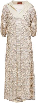 Missoni Crochet-knit Midi Dress