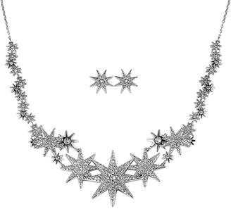 Swarovski Crystal Necklace & Earrings Set