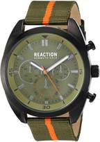 Kenneth Cole Reaction Men's 'Sport' Quartz Metal and Nylon Casual WatchMulti Color (Model: 10031951)