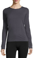 Wolford Pure Long-Sleeve Pullover Tee