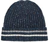Barneys New York MEN'S DONEGAL-EFFECT WOOL-CASHMERE CAP