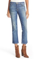 The Great Women's The Nerd Low Rise Crop Jeans