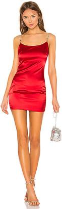 superdown Tijana Rhinestone Strap Dress