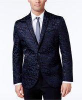 Kenneth Cole Reaction Men's Slim-Fit Blue and Camouflage Dinner Jacket