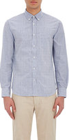 Officine Generale MEN'S STRIPED SEERSUCKER SHIRT