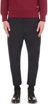 Vivienne Westwood Samurai structured-fit cotton-blend trousers