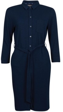 Barbour Auklet Button-Front Dress