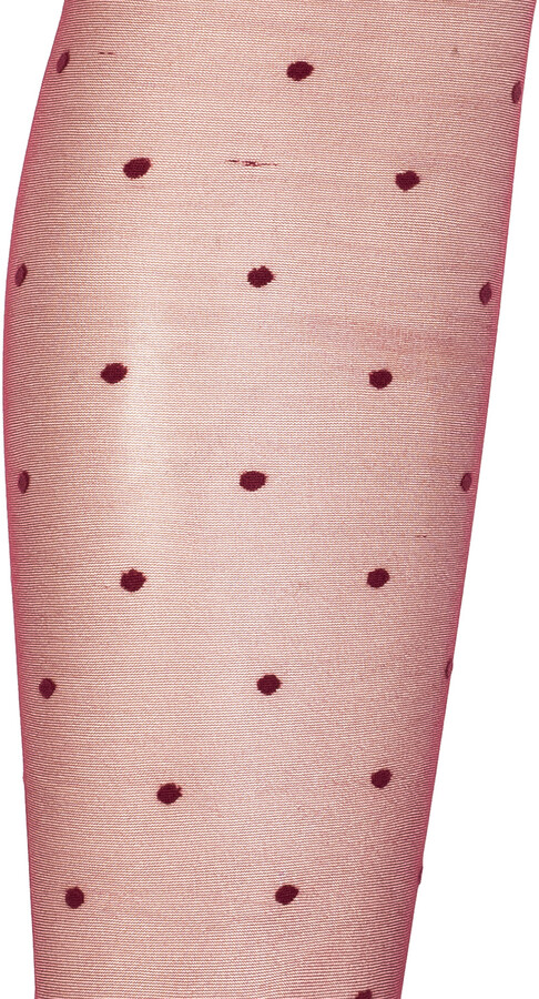 Thumbnail for your product : Saint Laurent Patterned Tights Women's Burgundy