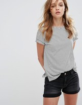 Pull&Bear Pull & Bear Stripe T-Shirt