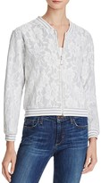 Lucy Paris Lace Bomber Jacket - 100% Bloomingdale's Exclusive