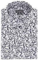 Van Heusen Mens Spread Collar Long Sleeve Stretch Dress Shirt - Extra Slim