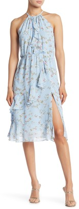 Sugar Lips Ruffe Floral Dress