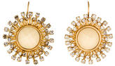 Kate Spade Resin & Crystal Sunburst Earrings