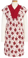 Tea Collection Girl's 'Kichi - Double Decker' Layered Dress