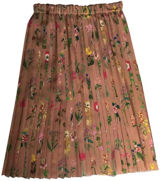 N°21 N21 Pink Silk Skirt for Women