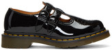 Dr. Martens Black Patent 8065 Mary-Jane Oxfords