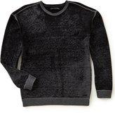 John Varvatos Reverse Print Long-Sleeve Sweater