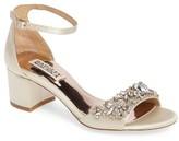 Badgley Mischka Women's Bellisima Crystal Embellished Sandal