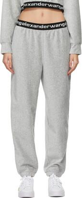 alexanderwang.t Grey Stretch Corduroy Lounge Pants