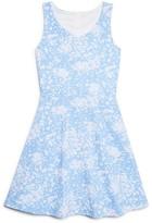 Aqua Girls' Flared Dress - Big Kid