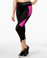 Calvin Klein Colorblocked Capri Leggings