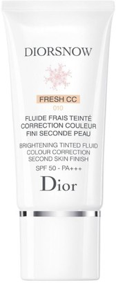 Christian Dior Diorsnow Brightening Tinted Fluid Colour Correction Second Skin Finish SPF50-PA+++ (30 ml)