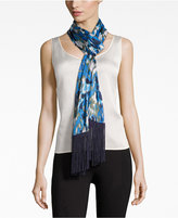Vince Camuto Blurred Garden Oblong Scarf
