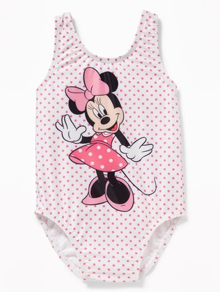 Old Navy Disney Minnie Mouse Swimsuit for Toddler Girls