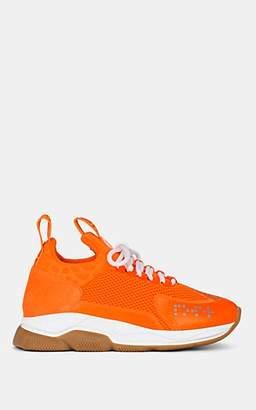 Versace Women's Chain Reaction Sneakers - Orange