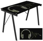 Lumisource Graphic Top Exponent Desk Black
