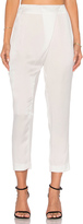 KENDALL + KYLIE Silk Draped Trouser