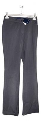 Incotex Grey Wool Trousers