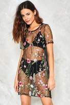 Nasty Gal nastygal The Eternal Floral Mesh Dress