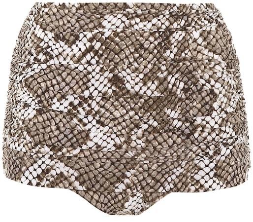 Norma Kamali Exclusive to Mytheresa Bill high-waisted bikini bottoms