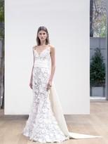 Oscar de la Renta Floral Lace Lola Gown