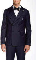 Gant The Doubler Double Breasted Peak Lapel Wool Blazer
