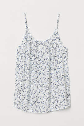 H&M Crinkled Camisole Top