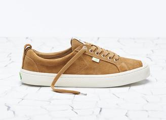 Cariuma OCA Low Camel Suede Sneaker Men