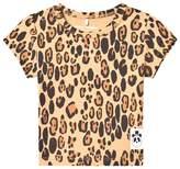 Mini Rodini Leopard Print Basic Tee