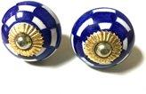 Imlistreet Ceramic Knob Home Decorative Hardware Drawer Cabinet Knob Handle Door Pull (Pack of 2)