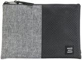 Herschel perforated pattern wash bag