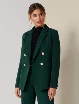 Forever New Edith Blazer - Green - 14