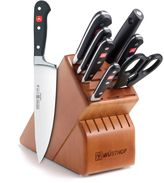 Wusthof Classic 8-Piece Deluxe Wood Knife Block Set in Cherry