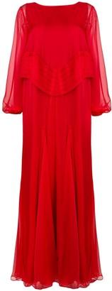 Irina Schrotter Long Flared Dress