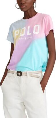 Polo Ralph Lauren Tie Dye Logo Graphic Tee