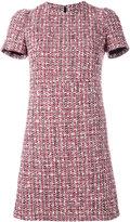 Alexander McQueen tweed dress - women - Silk/Cotton/Polyamide/Virgin Wool - 38
